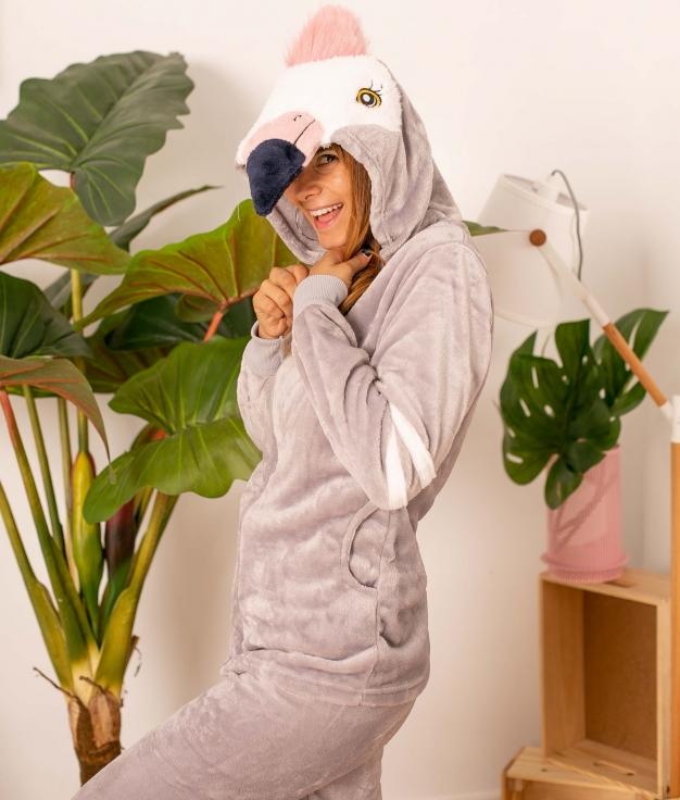 Pijama Cornel - Cinza