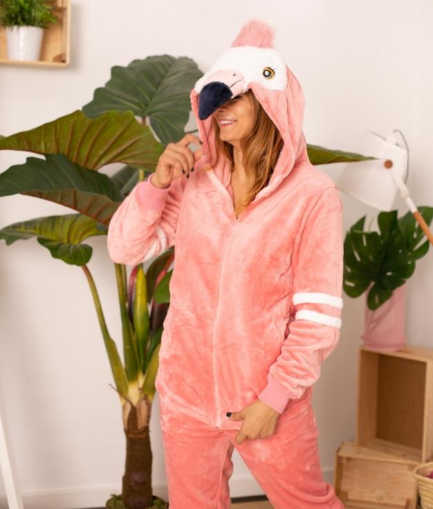 Pijama Cornel - Salmão