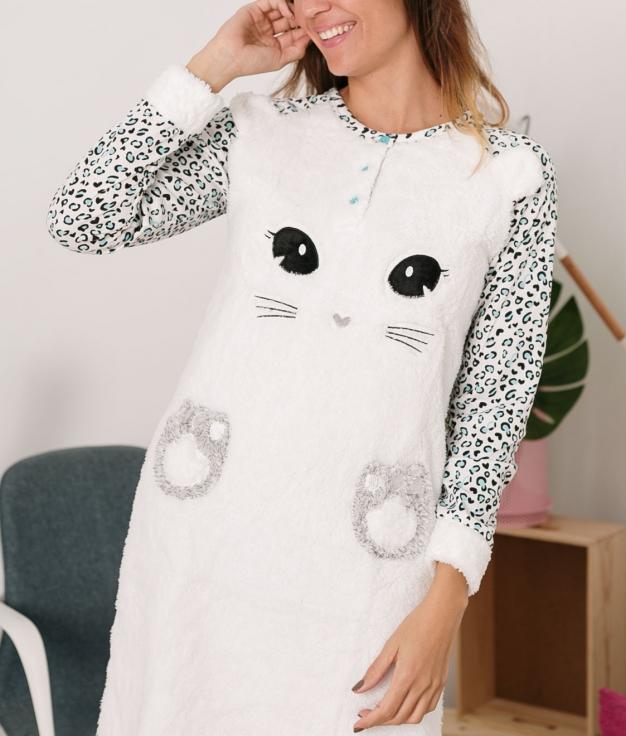 Vestido Pijama Sinete - Turquesa