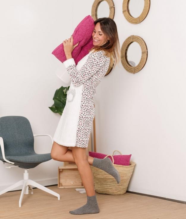 Vestido Pijama Sinete - Rosa