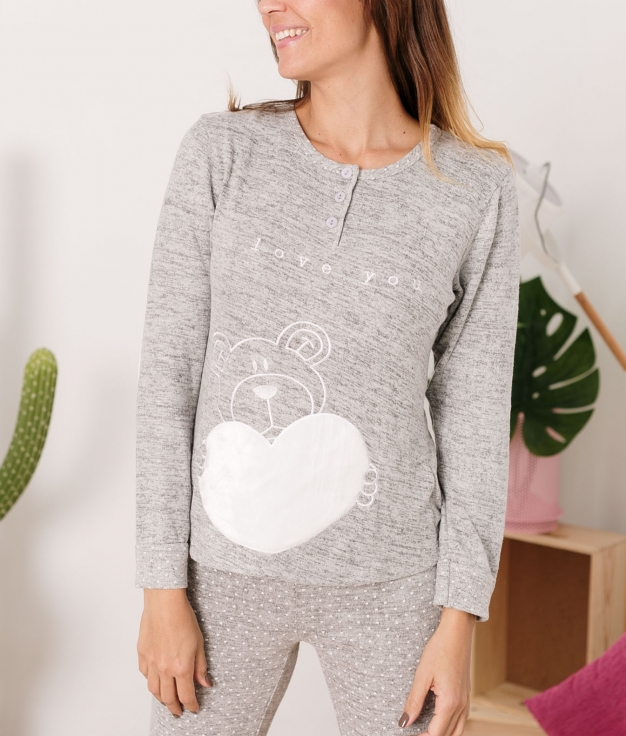 Pyjama Piskio - Gris