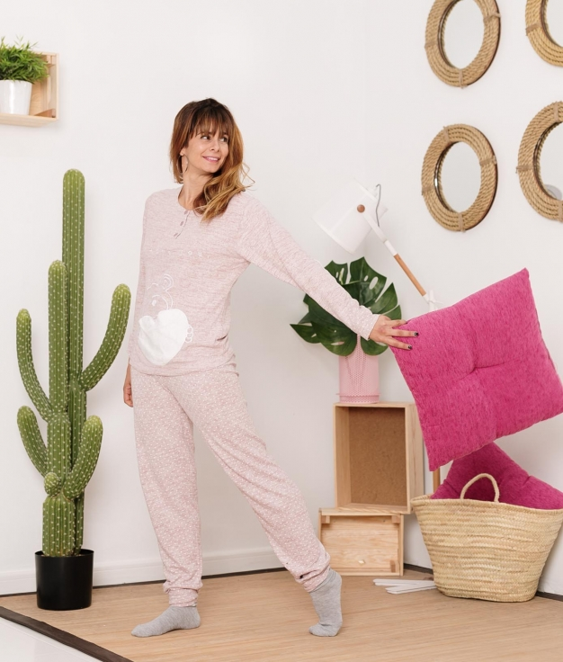 Pijama Piskio - Pink