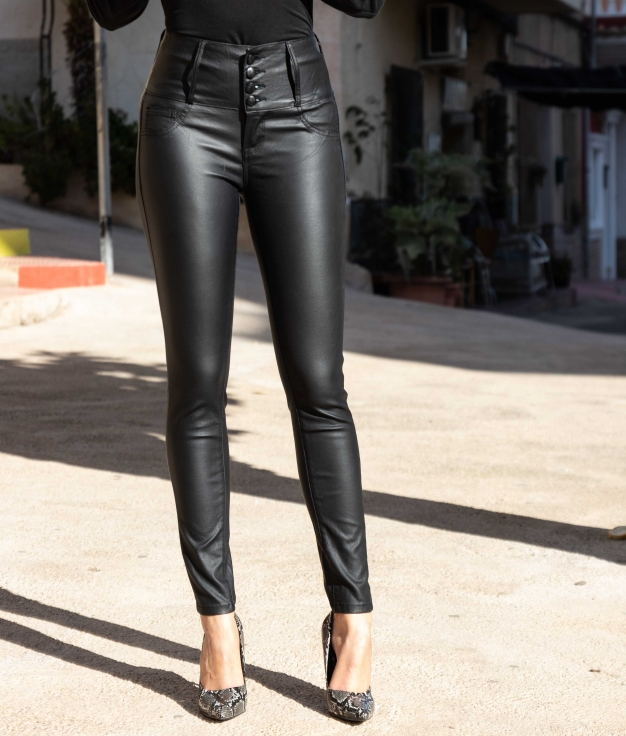 Pantaloni Gertu - Nero