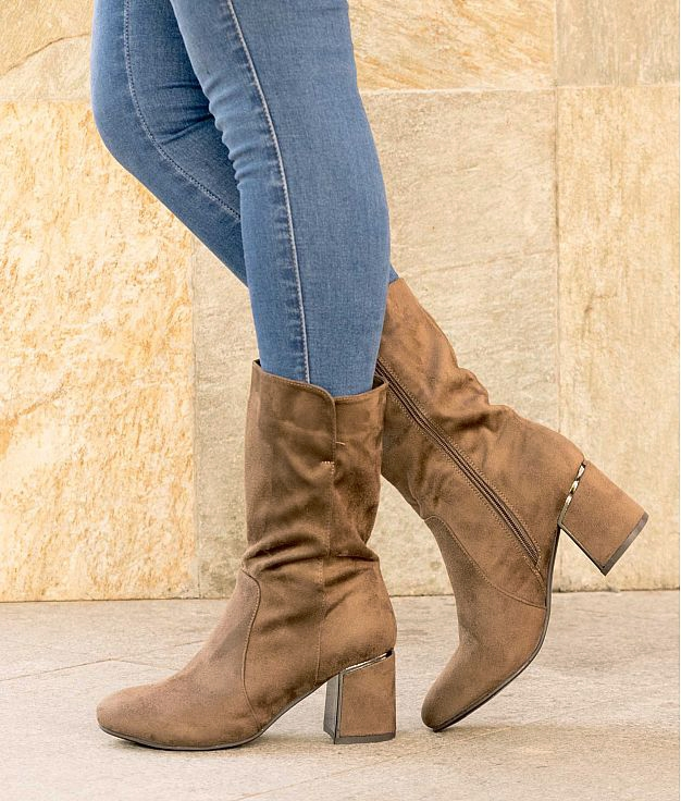 Low Boot Gitu - Khaki