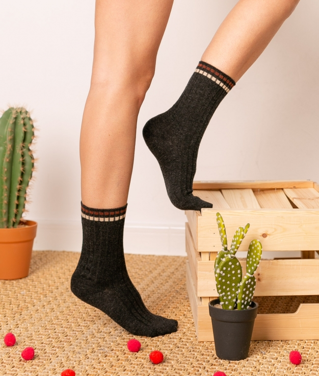 Sock Zetis - Black