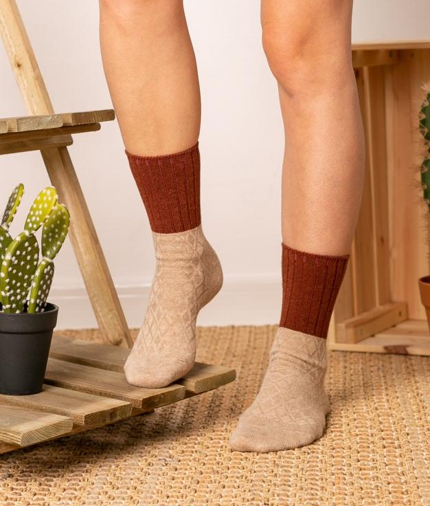 Sock Mentis - Beige