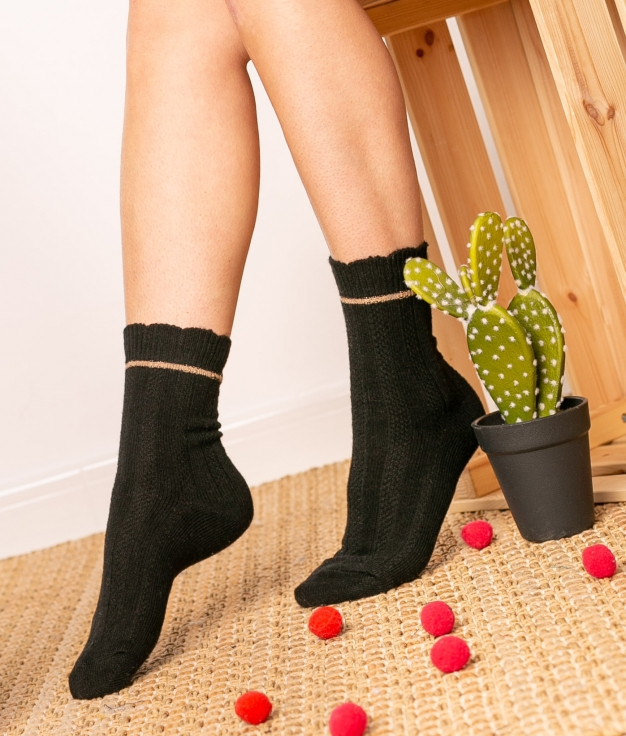 Sock Nepo - Black