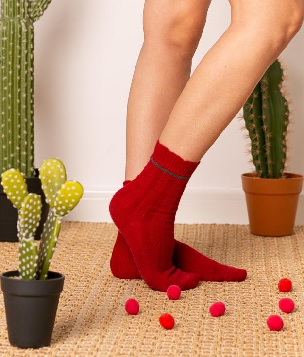 Sock Nepo - Maroon