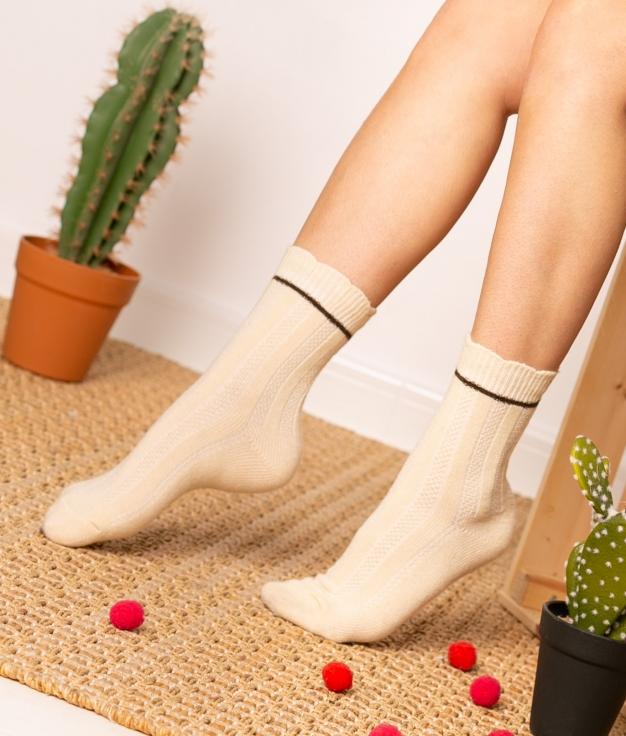 Sock Nepo - Beige