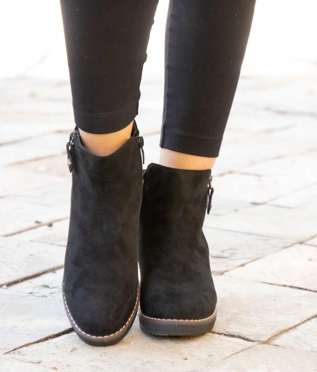 Low Boot Renate - Black
