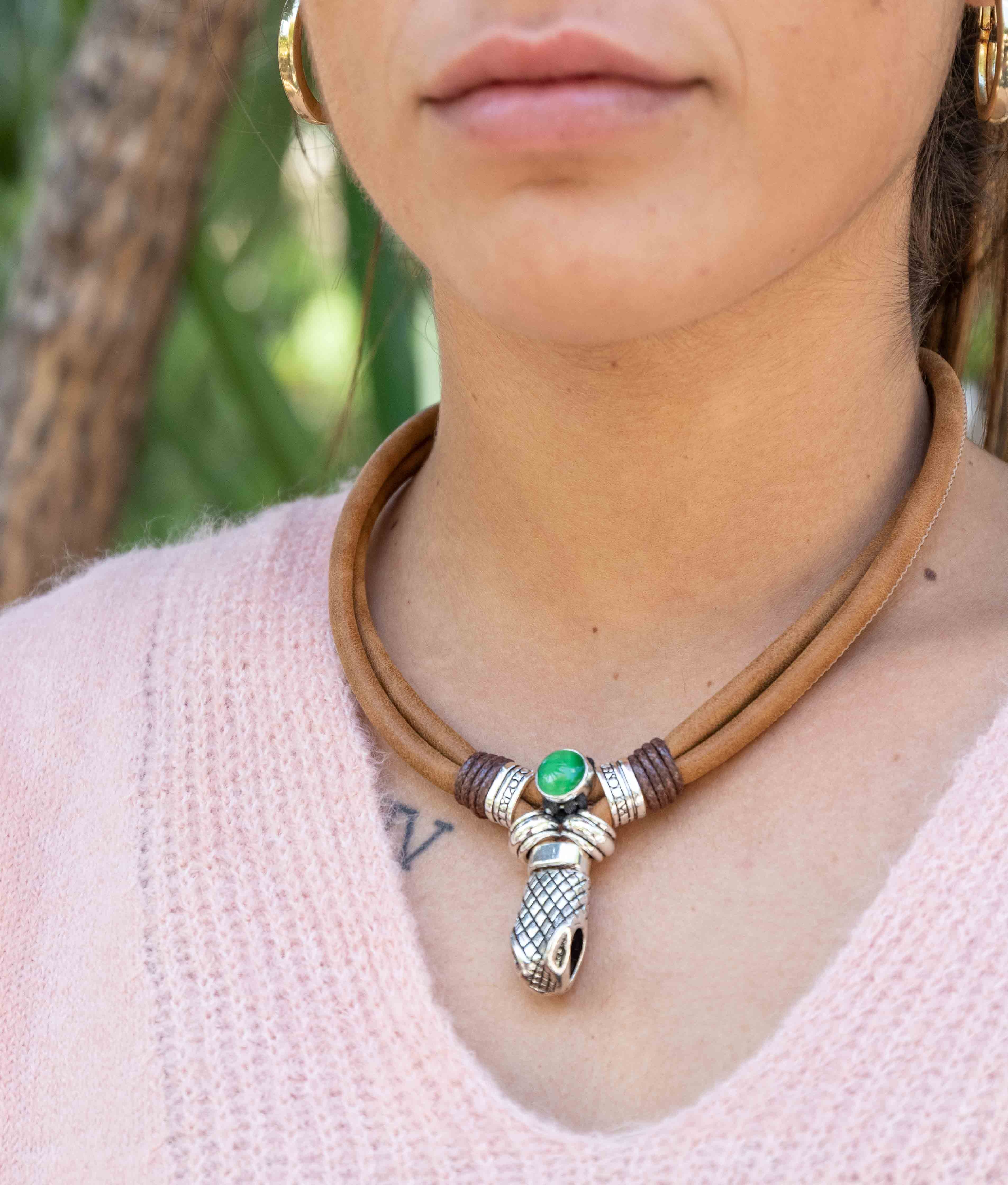 Collar Alioth - Verde