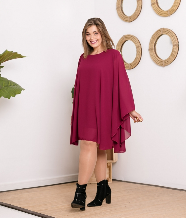 Camiseta Poncho Premans - Granate
