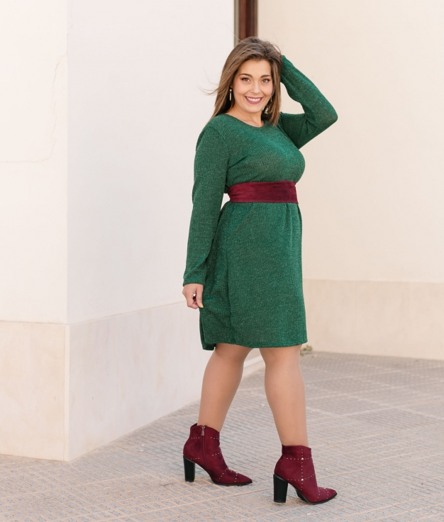 Dress Piroline - Green