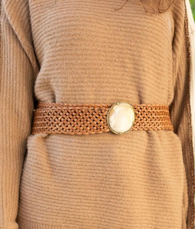 Cinturón Polita - Camel