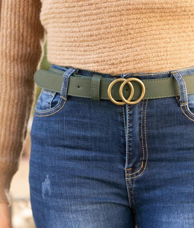 Cinturón Tresio - Verde