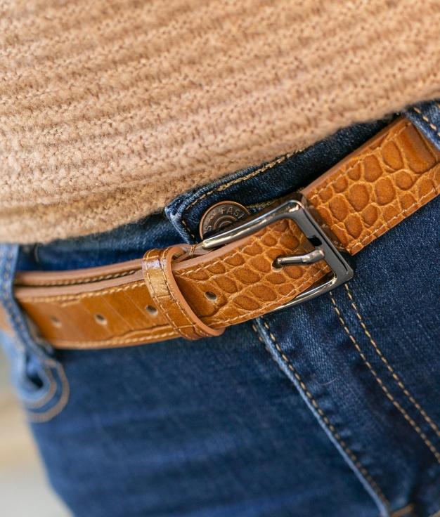 Cinturón Vilun - Camel