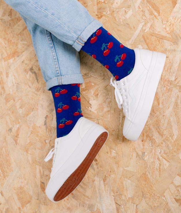 Sock Tombis - Cerezas