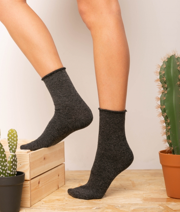 Sock Yales - Grey