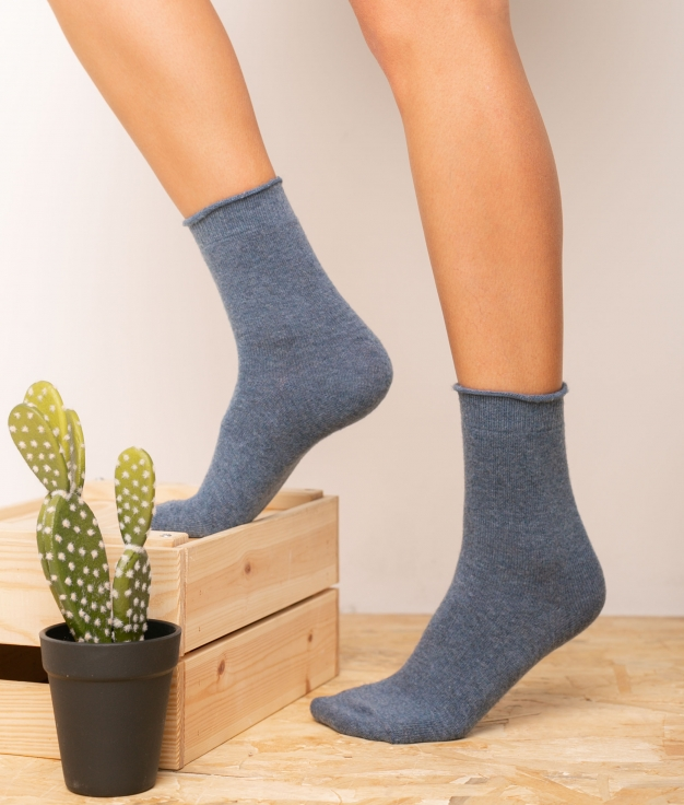 Sock Yales - Blue