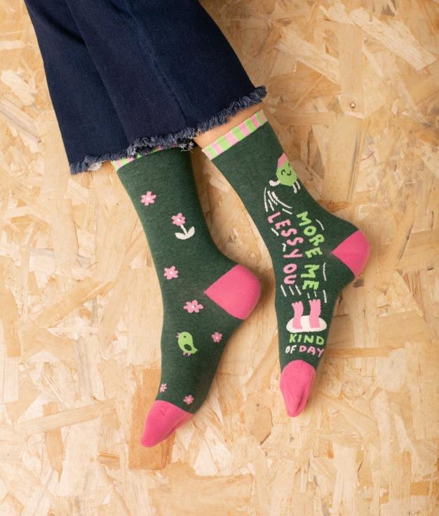 Sock Tekos - Green Dark