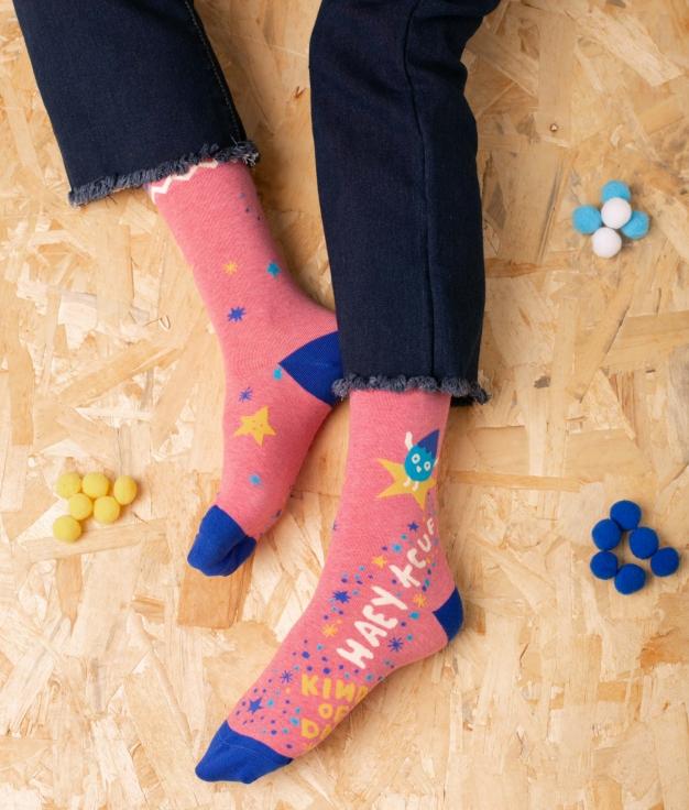 Sock Tekos -Pink