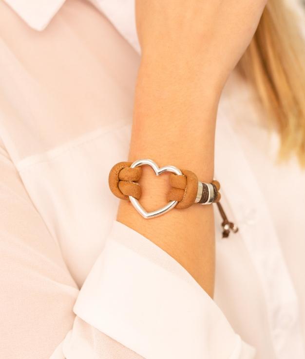 Bracelet Fanto - Marron