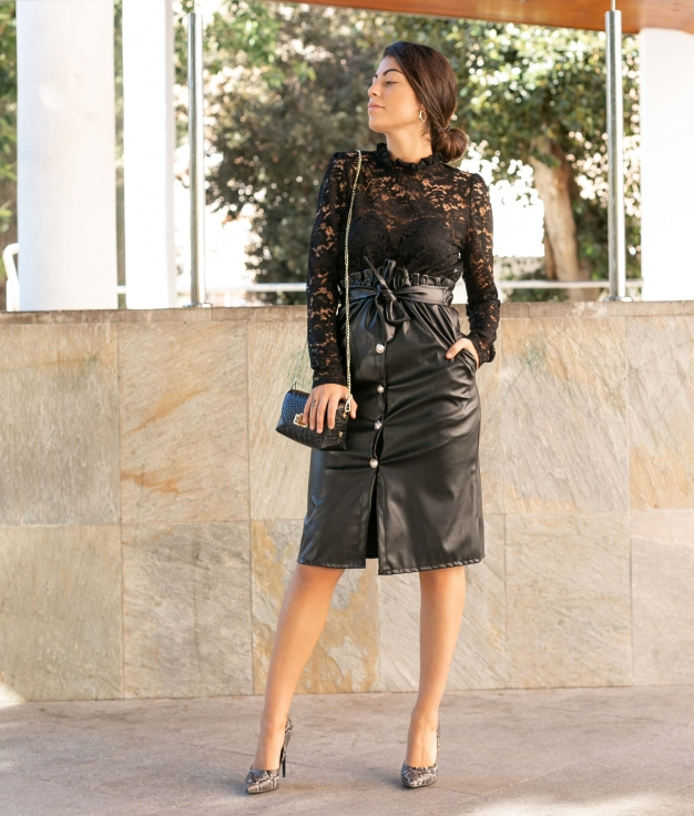 Skirt Timps - Black