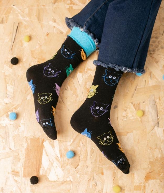 Sock Tombis - Gatos
