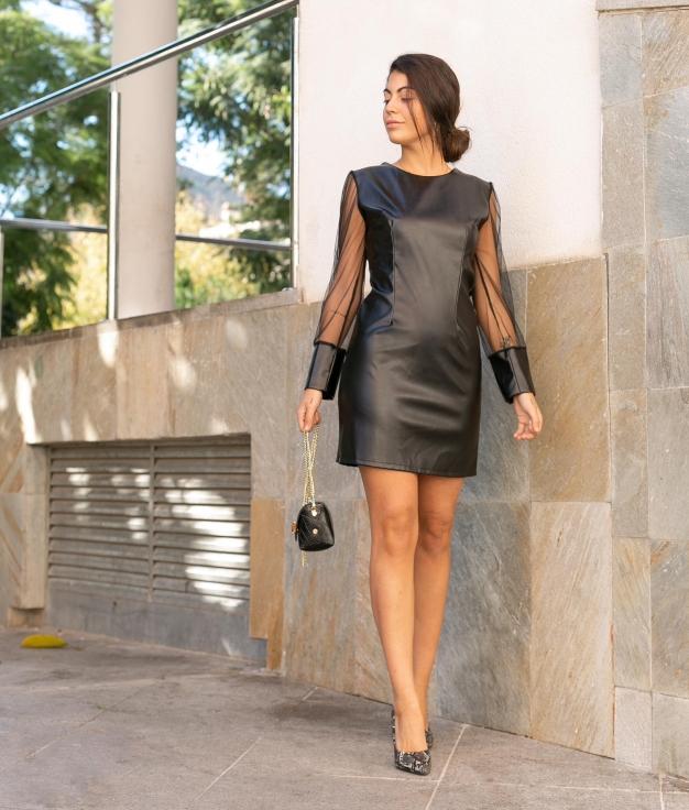 Vestido Kumi - Negro