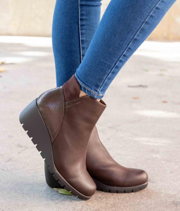 Low Boot Enerima - Brown