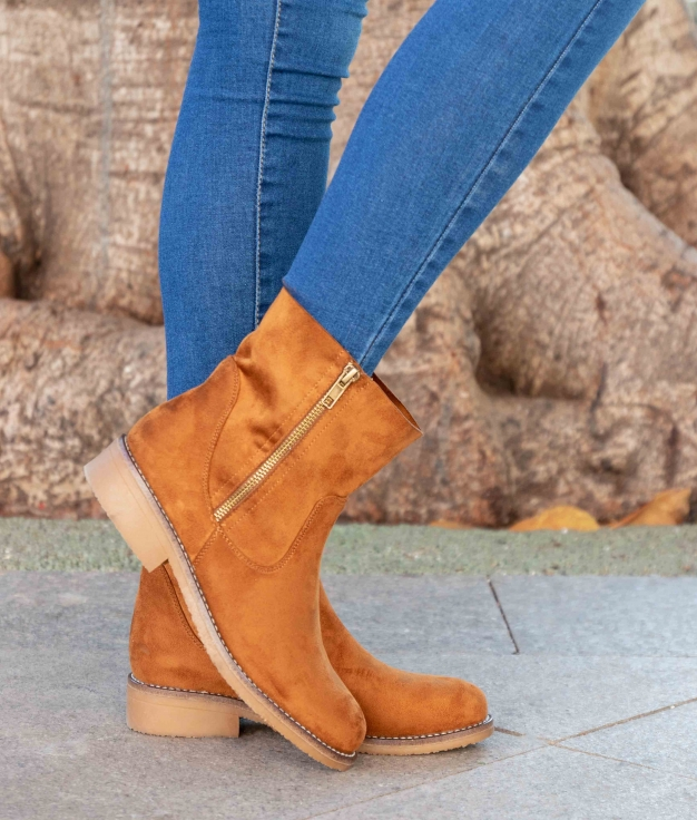 Low Boot Lomare - Camel