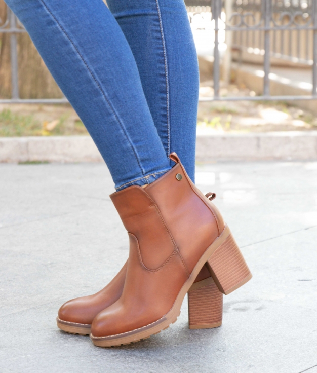 Low Boot Ferico - Camel