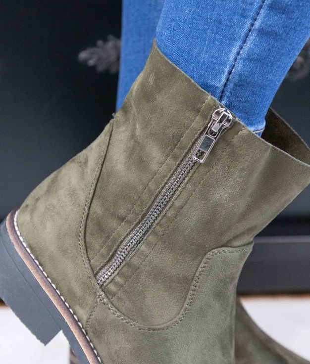 Low Boot Lomare - Green