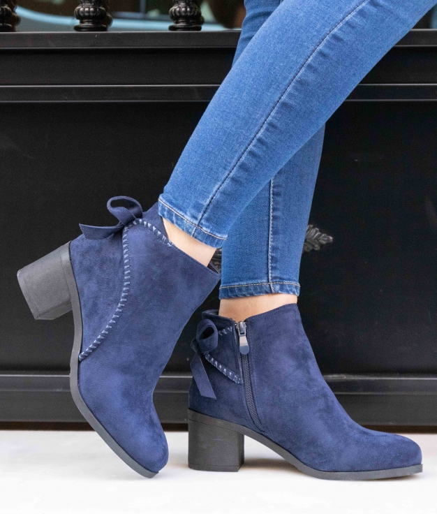 Low Boot Auster - Blue