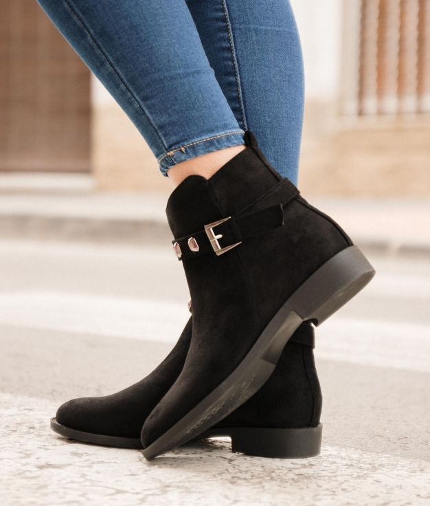 Low Boot Limus - Black