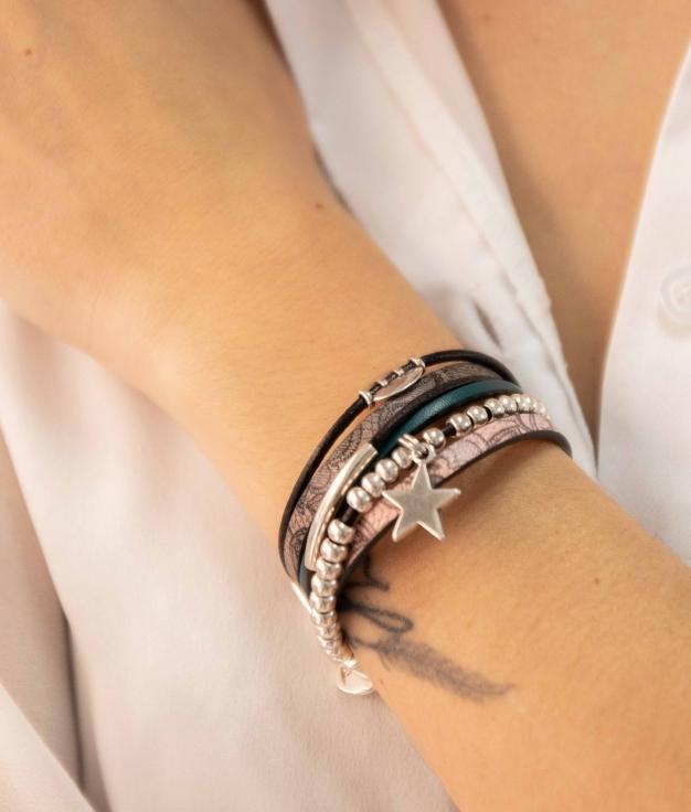 Bracelet Everin - Marron
