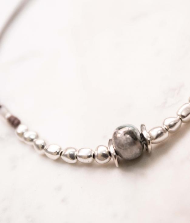 Necklace Lintron - Silver