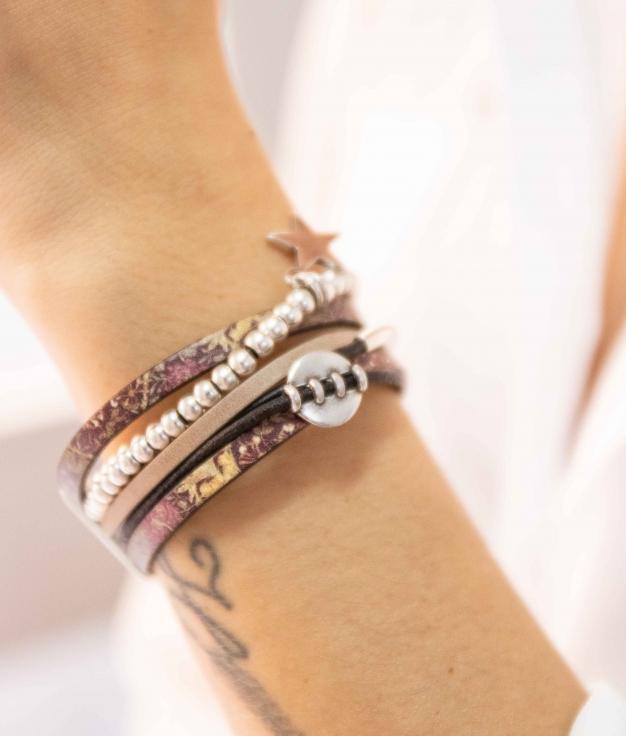 Bracelet Tirsan - Marron