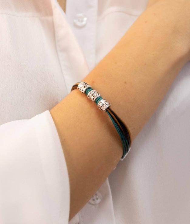 Bracelet Sanela - Brown