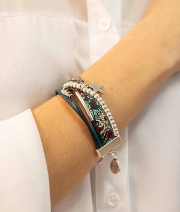 Bracelet Kembi - Turquoise