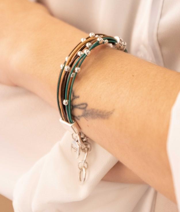 Bracelet Dentel - Brown
