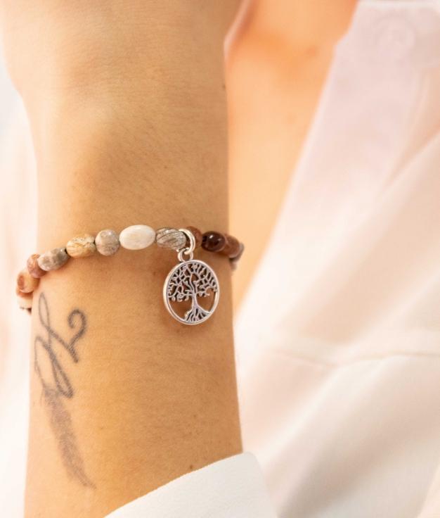 Bracelet Guesla - Marron