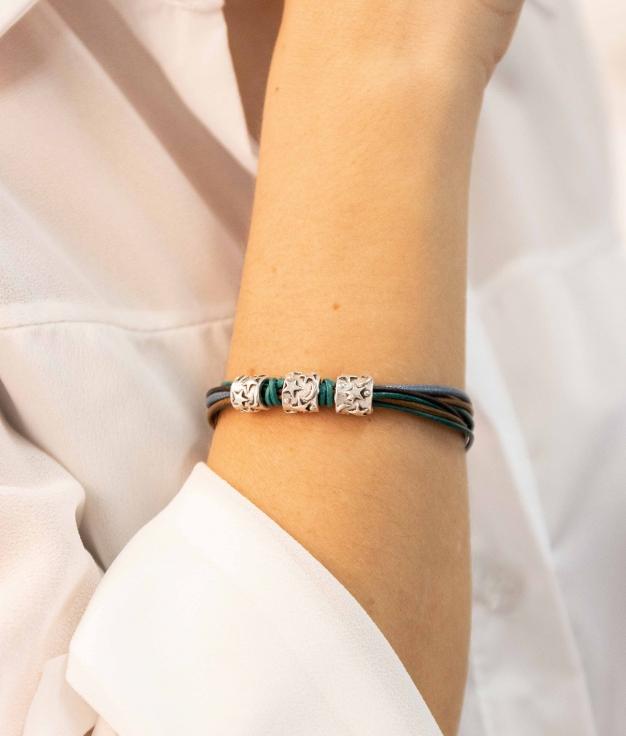 Bracelet Langur - Marron