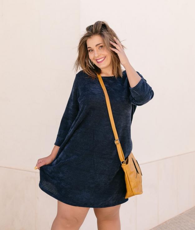 Vestido Winta - Azul