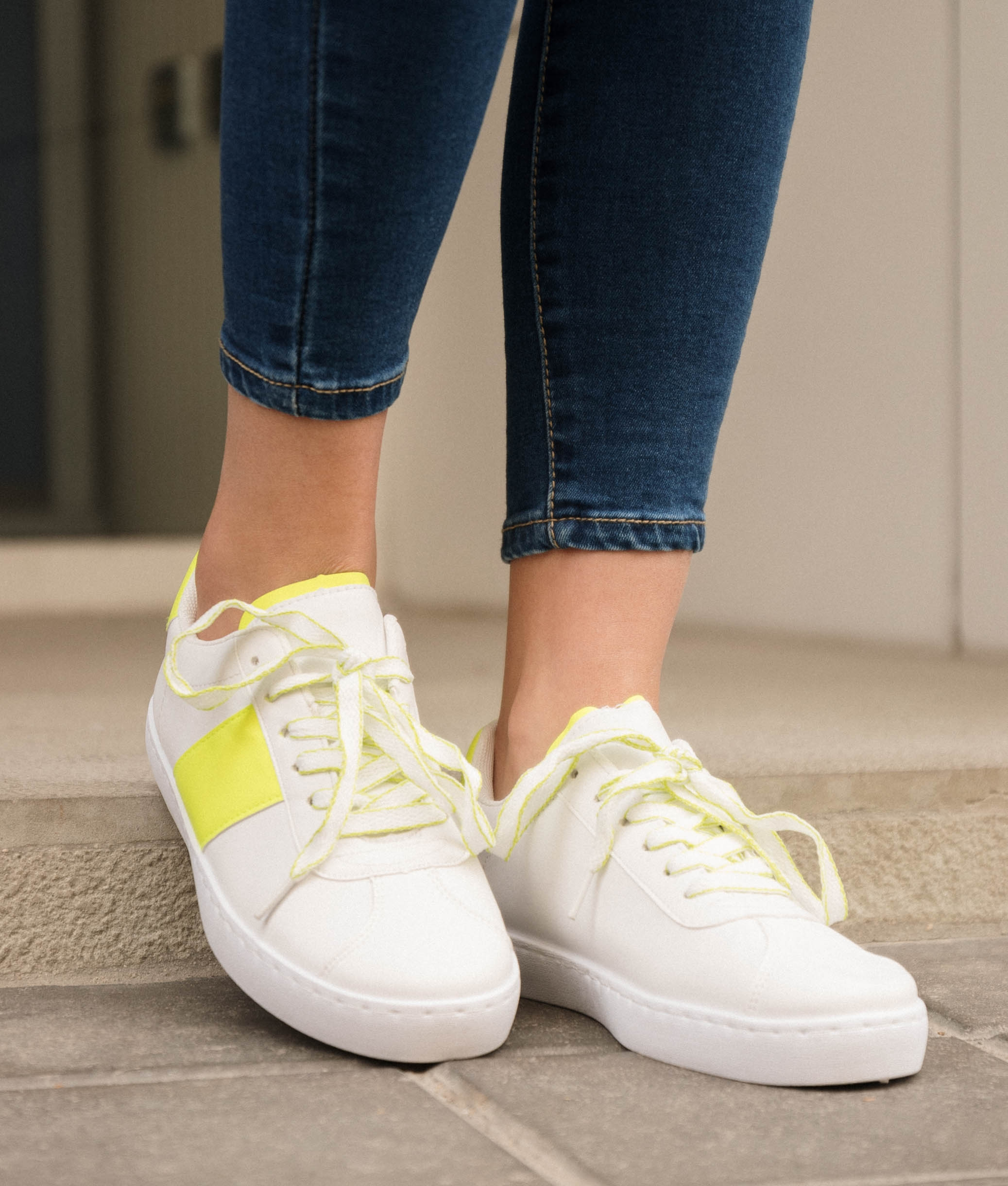 Sneakers Anubes - Amarelo