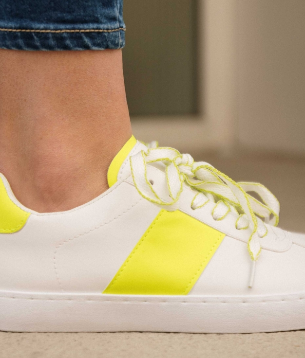 Sneakers Anubes - Amarillo