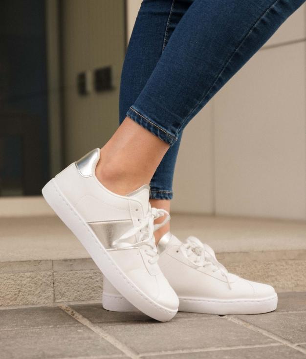 Sneakers Anubes - Prata