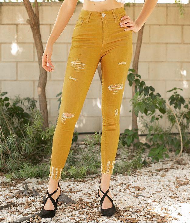 Pantaloni Polima - Senape