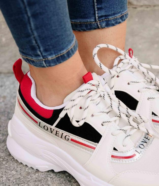 Sneakers Asila - Rojo