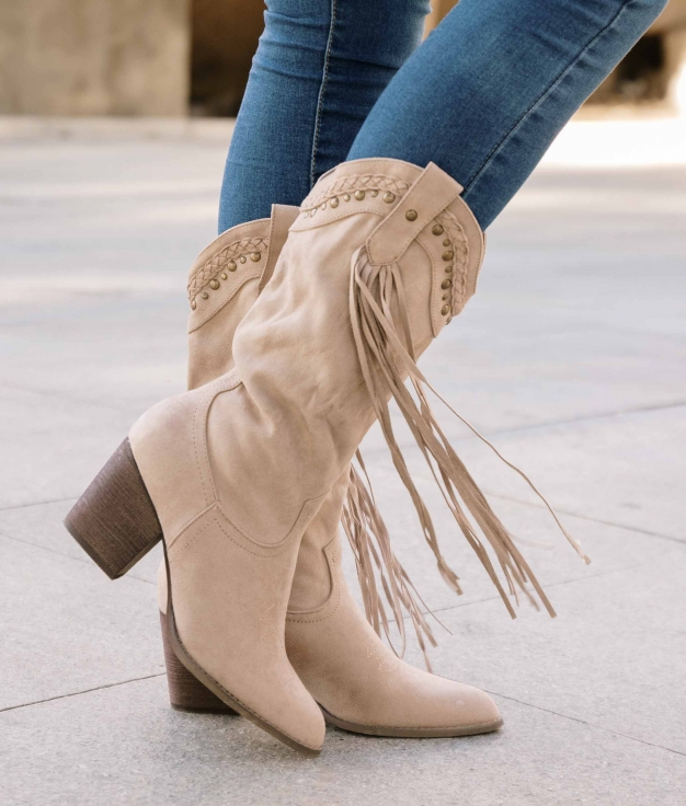 Knee-length Boot Consil - Beige